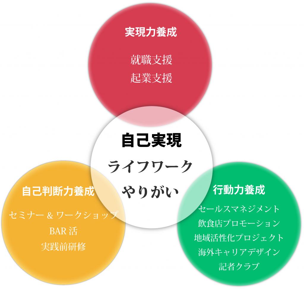 stylegaredenキャリアデザイン図